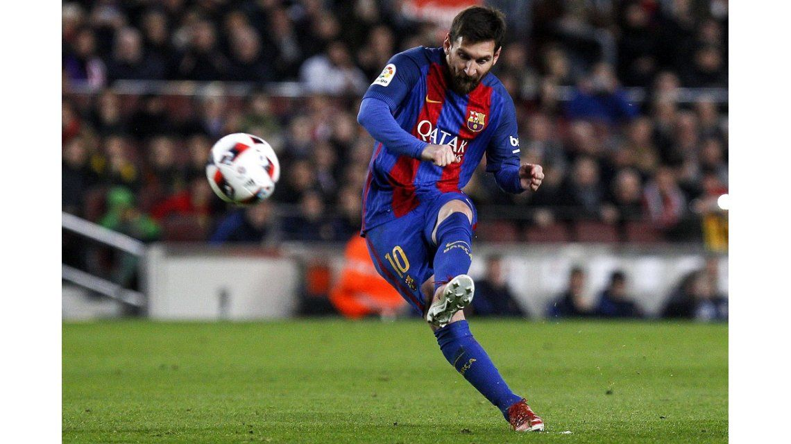 Los goles de Messi en el entrenamiento del Barcelona