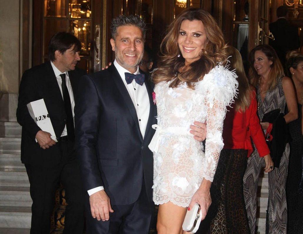Florencia de la V y Pablo Goycochea