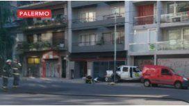 Choque y fuga de gas en Palermo: hubo evacuados