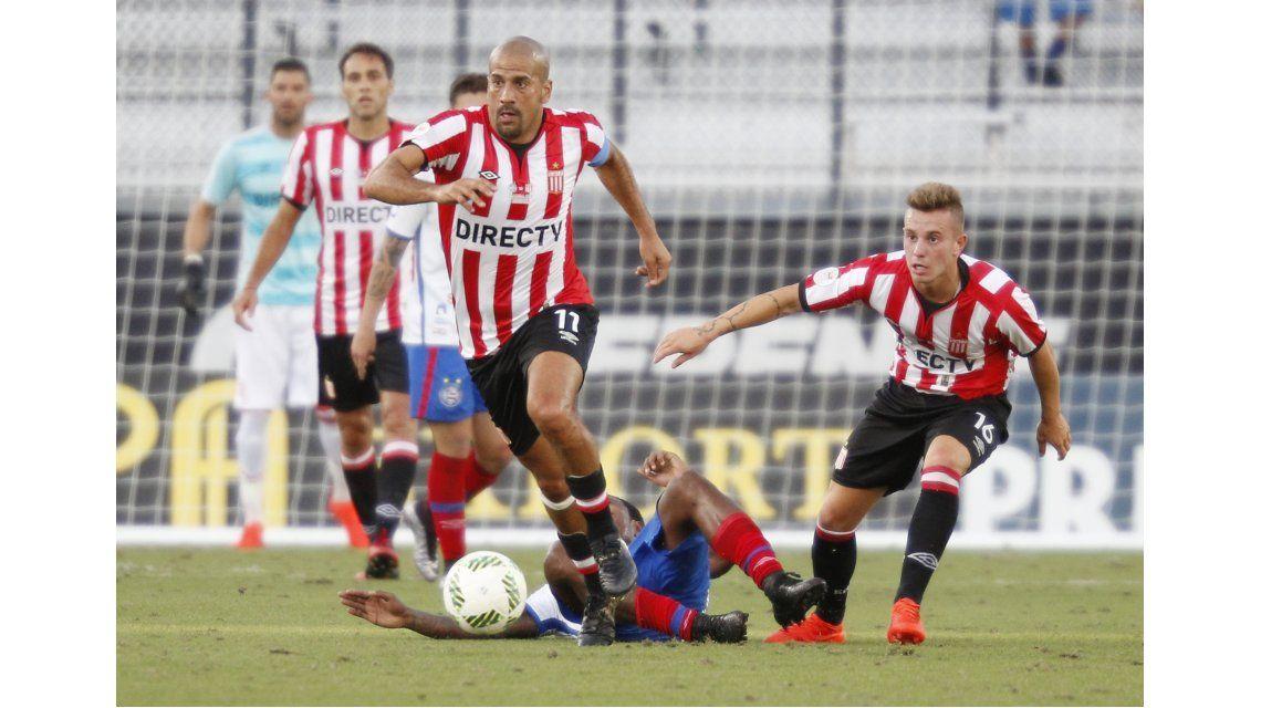 Juan Sebastián Verón volvió a jugar en Estudiantes