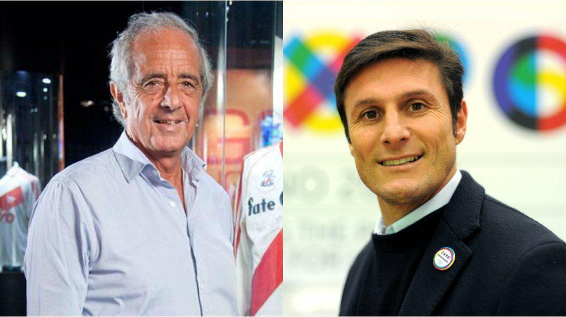 DOnofrio y Zanetti tendrán cargos dentro de la FIFA