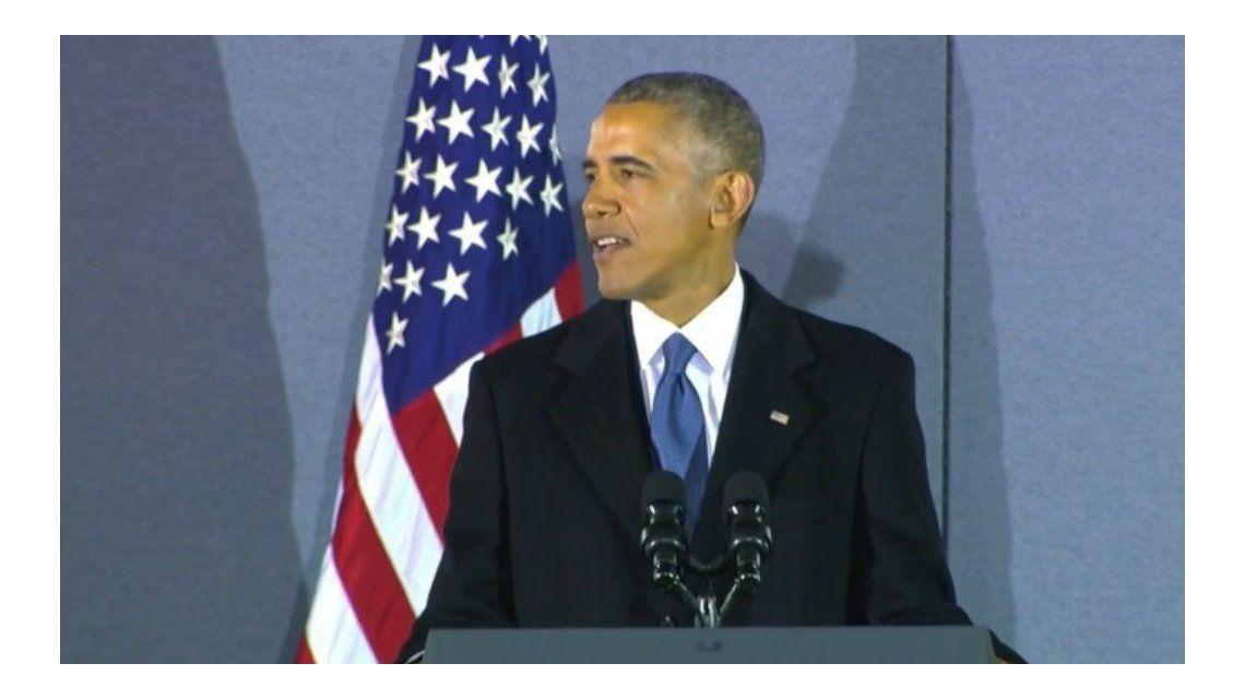 Obama, ex presidente: Les prometo que voy a estar con ustedes