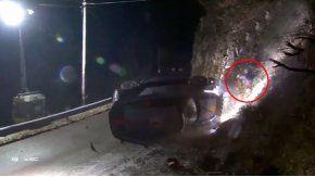 Así quedó la escena de la tragedia en el Rally de Montecarlo