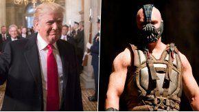 Preocupante semejanza entre Trump y Bane