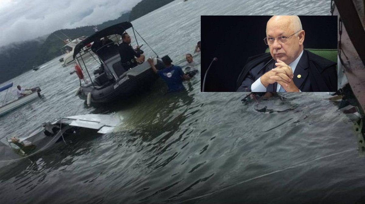 El juez que investigaba los casos de corrupción en Brasil murió al estrellarse la avioneta en la que viajaba