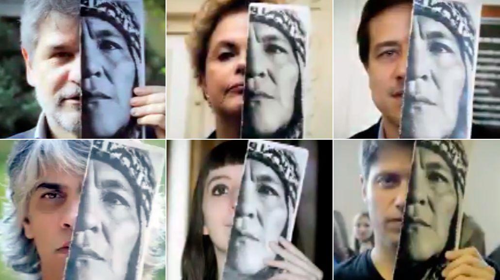 Cristina publicó un video al cumplirse un año de la detención de Milagro Sala<br>