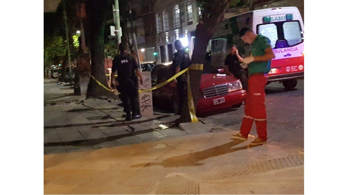 Policía cierra la zona al tránsito