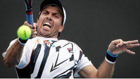 Carlos Berlocq fue eliminado por el francés Gasquet
