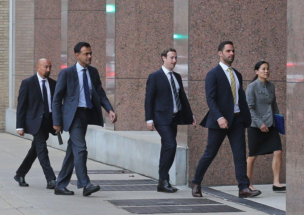 Zuckerberg defendió de acusaciones de robo de propiedad intelectual a una empresa que adquirió