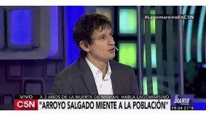 Nisman tomó la decisión de dispararse, dijo Lagomarsino