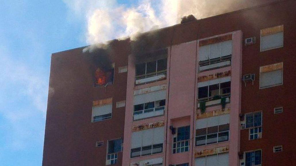 El edificio está ubicado en San Pedrito 55