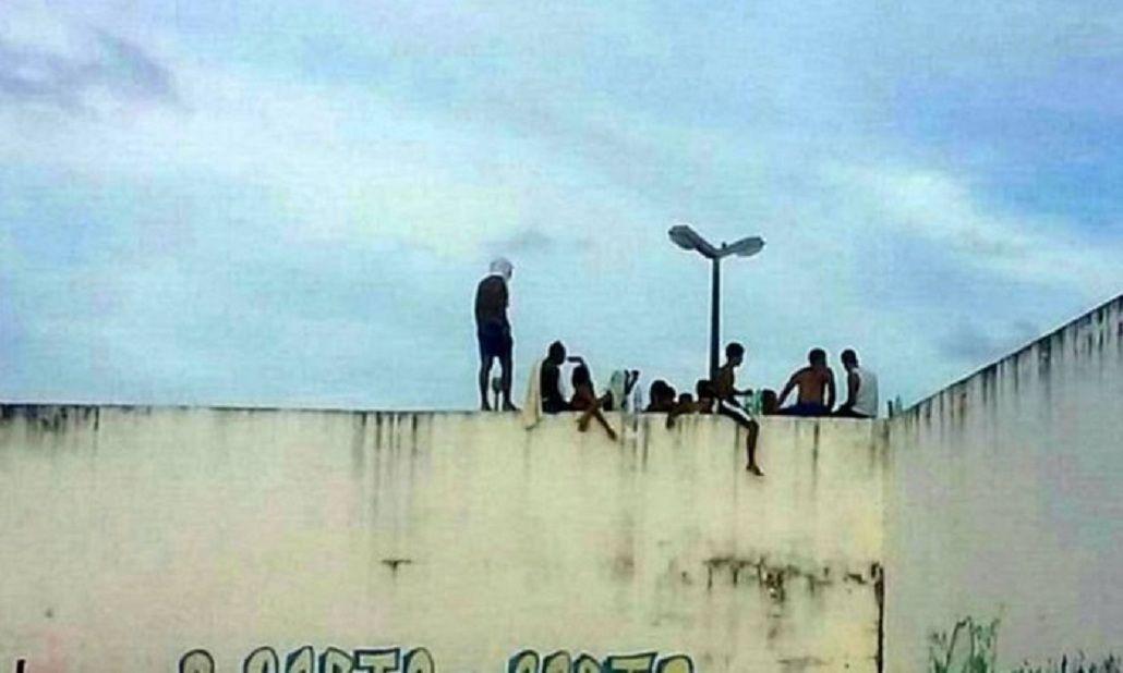 un motín en la cárcel Alcaçuz