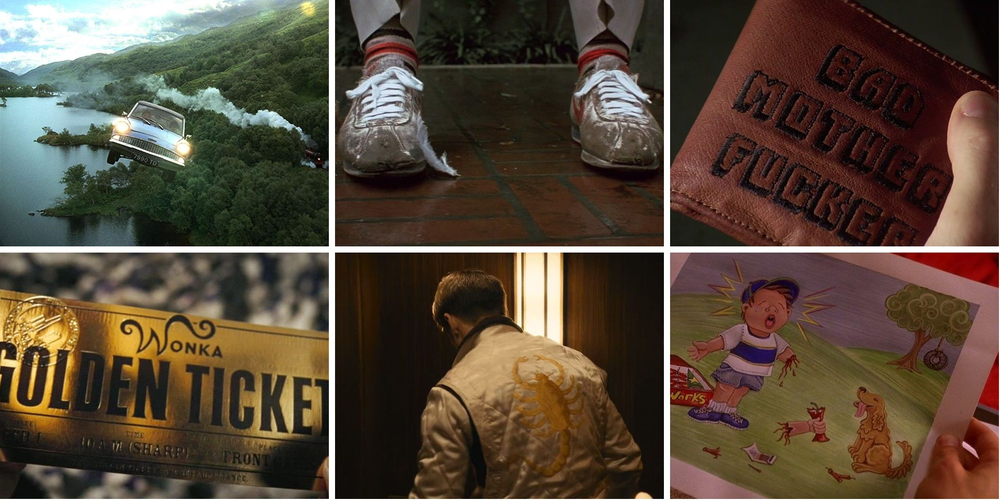 ¿Podés determinar en qué película aparecieron estos objetos?