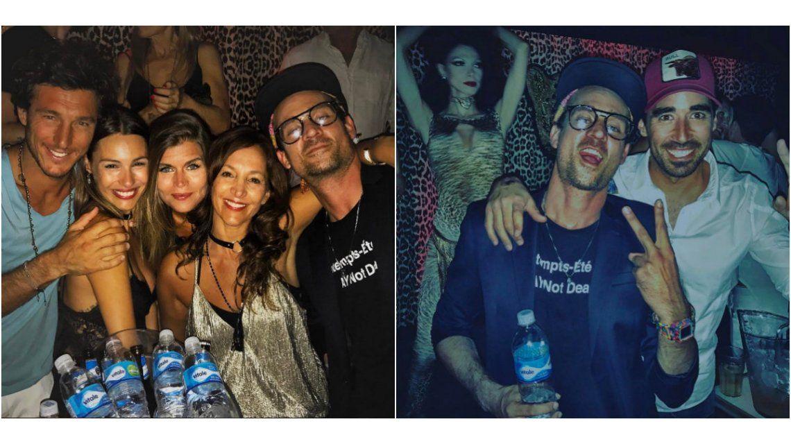 Pampita y sus amigos festejaron en Punta del Este