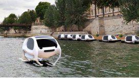 Sea Bubble, el taxi futurista que llevará pasajeros por el río Sena