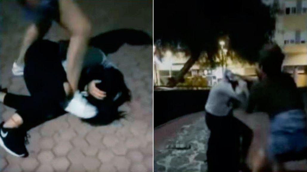 Dos adolescentes golpearon a una joven en España