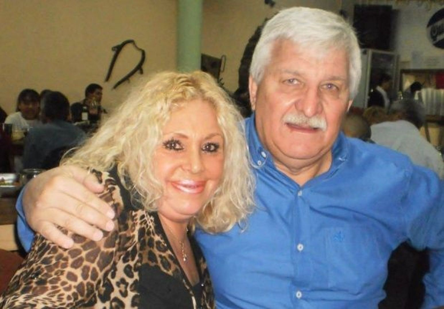 Stella Maris Sequeira y Rubén Carrazone