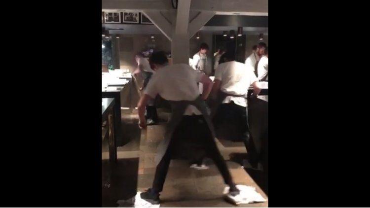 El baile de los cocineros de Noma causó polémica