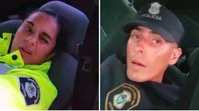 Los dos policías del Operativo Sol que dormían fueron sancionados