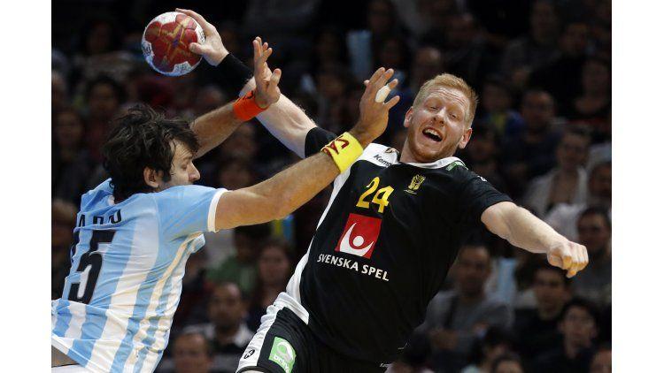 Argentina fue aplastada por Suecia