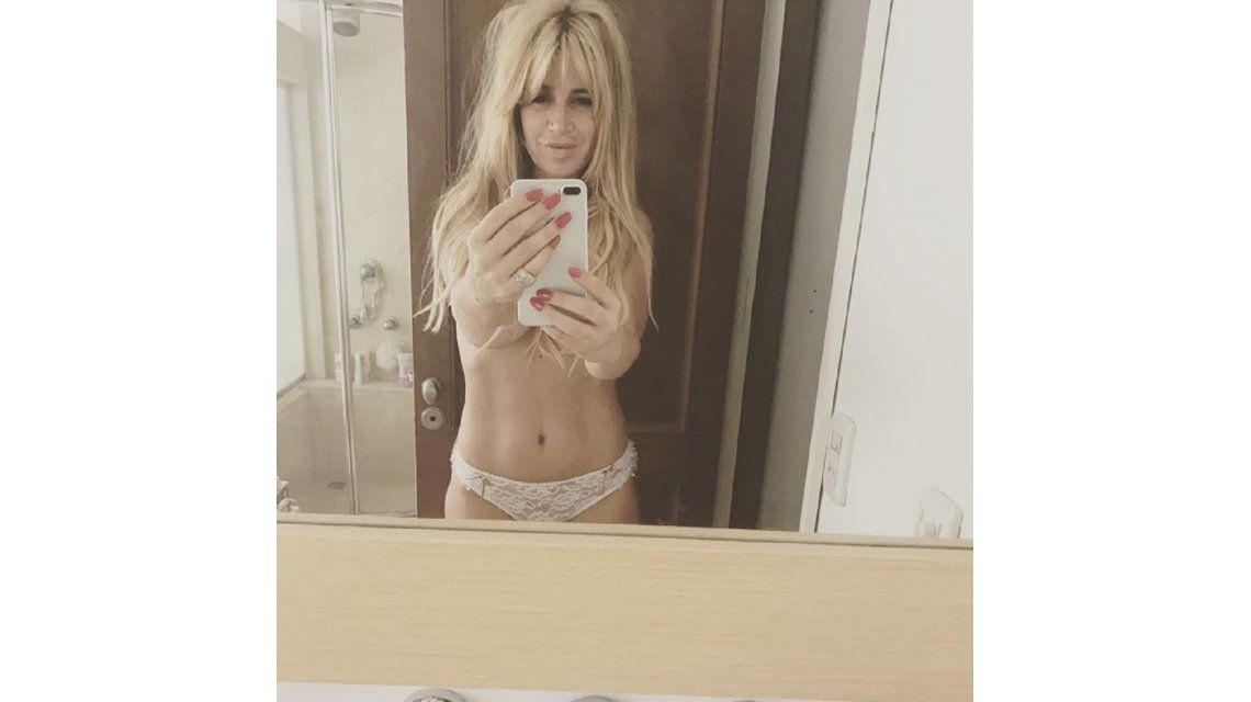 El topless de Florencia Peña