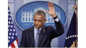 Obama dio su último discurso en la Casa Blanca