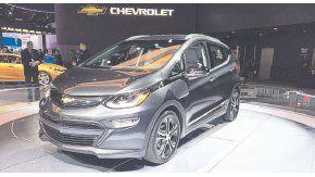 Chevrolet Bolt EV, premiado  como el auto del año de Norteamérica