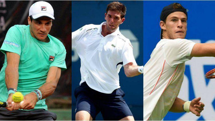 El primer Grand Slam del 2017 tendrá tres argentinos