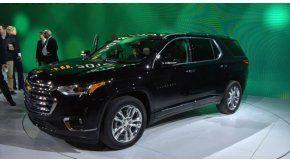 Chevrolet Traverse, en el Salón de Detroit