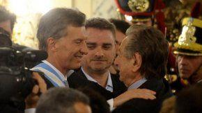 Franco Macri le puso un 5 a su hijo