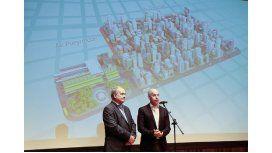 Horacio Rodríguez Larreta presentó el proyecto Once peatonal