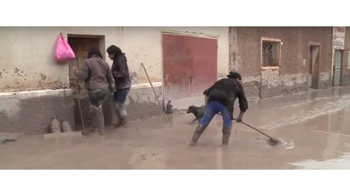 Una vecina de jujuy relató el alud - Crédito: www.quepasajujuy.com.ar