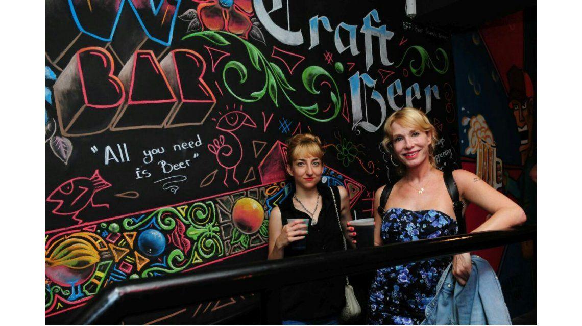 Gloria Carrá pasó por W Bar