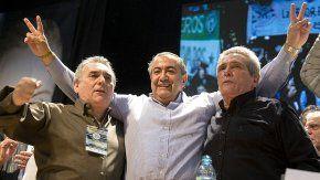 Juan Carlos Schmid, Héctor Daer y Carlos Acuña