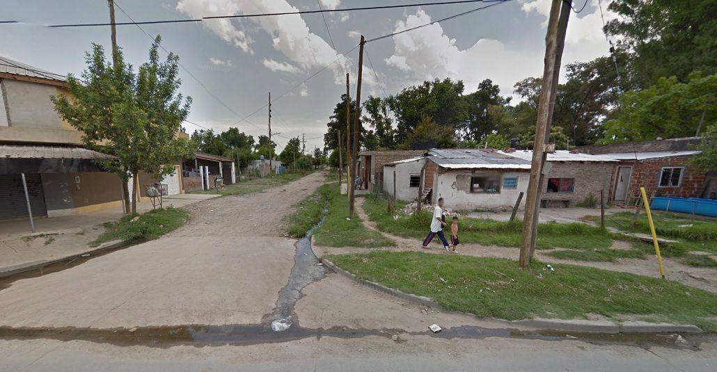 La zona donde fue asesinado el policía federal