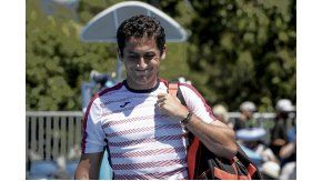 Nicolás Almagro se retira lesionado del Abierto de Australia