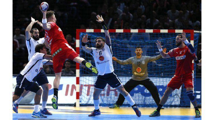 Los Gladiadores cayeron ante Dinamarca en su debut