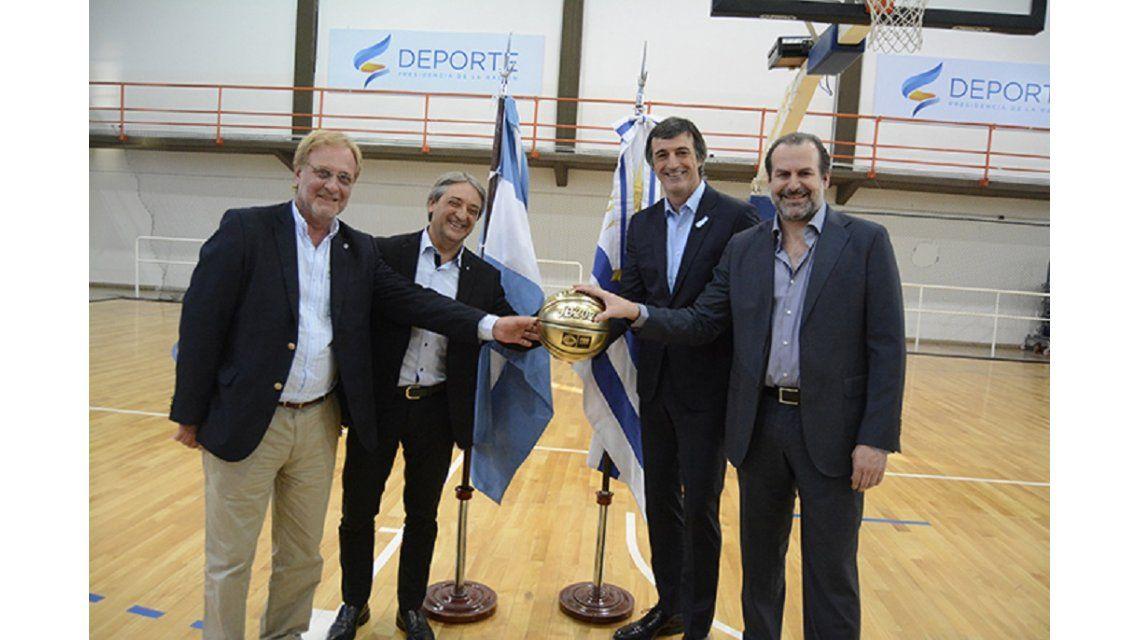 Argentina y Uruguay quieren organizar el Mundial de Básquet 2023