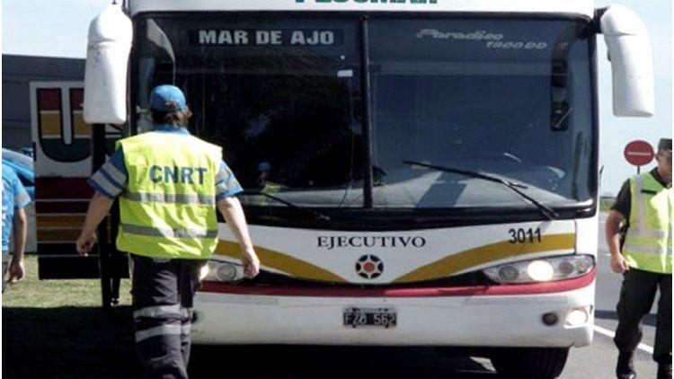 Se labraron 133 multas de transporte por día en la primera quincena