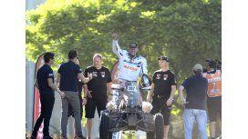 Furor por la llegada de los pilotos del Dakar a la Ciudad