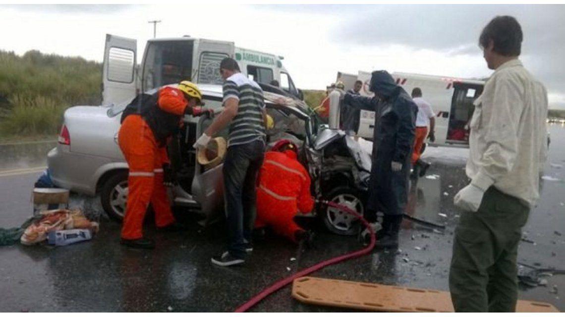 Violento choque en Córdoba