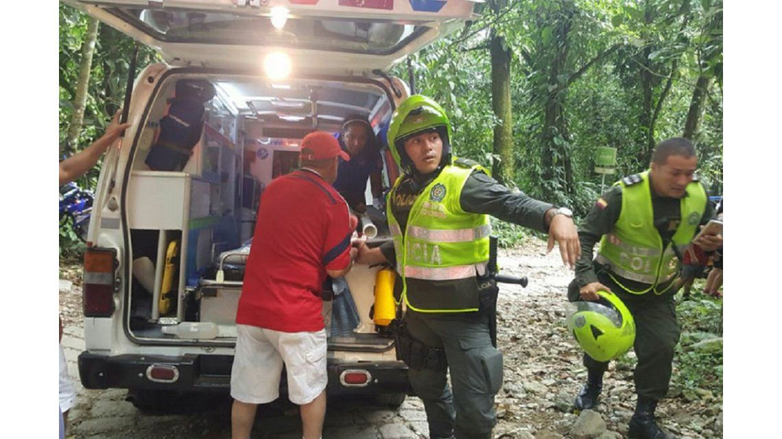 Un puente colgante cayó en la ciudad de Villavicencio