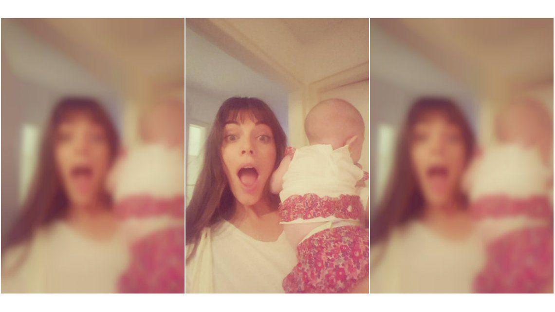 Emilia Attias y su hija Gina