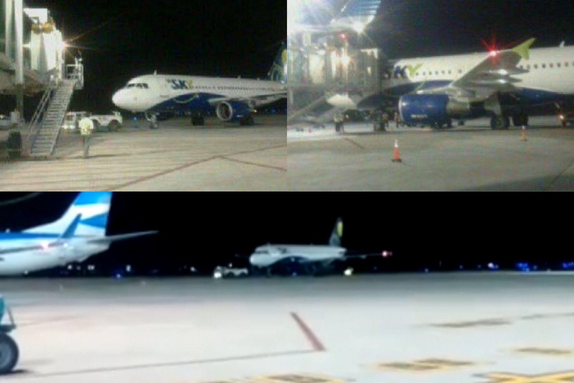 Tensión en un vuelolow cost en Mendoza