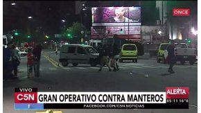 Gran operativo contra los manteros en C5N