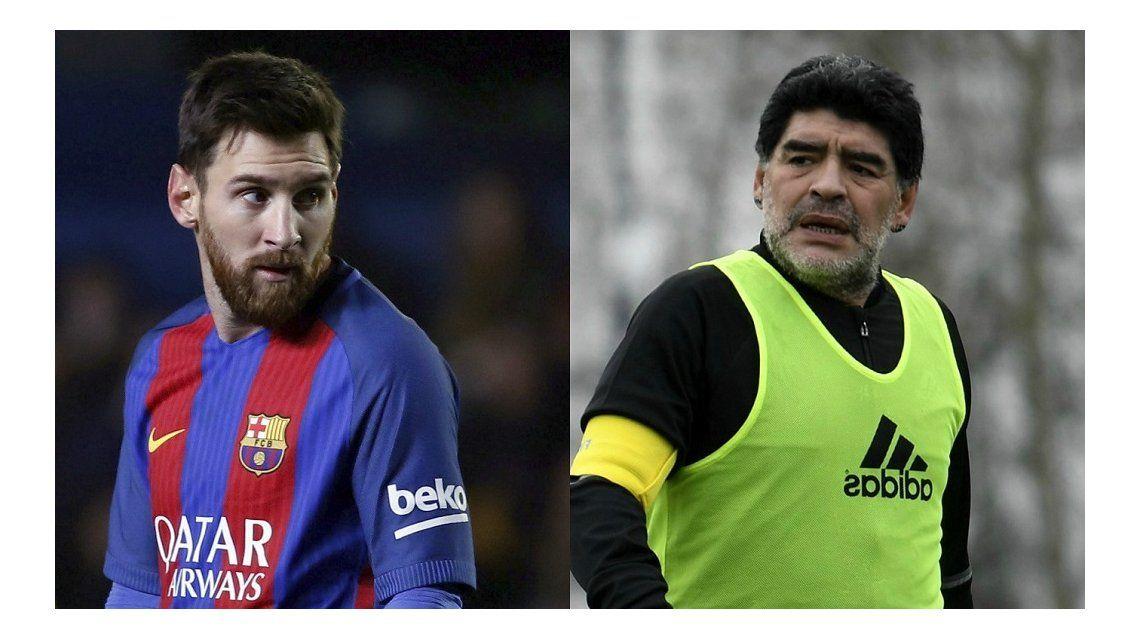 Maradona criticó a Messi por no ir a la gala The Best de la FIFA