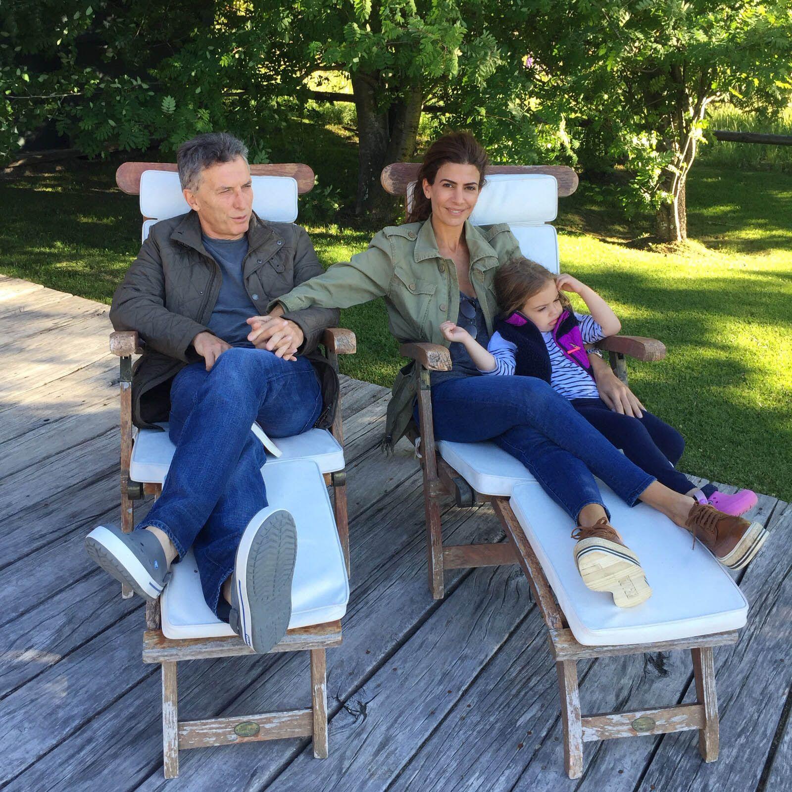 Macri descansó dos semans con su familia en Villa La Angostura
