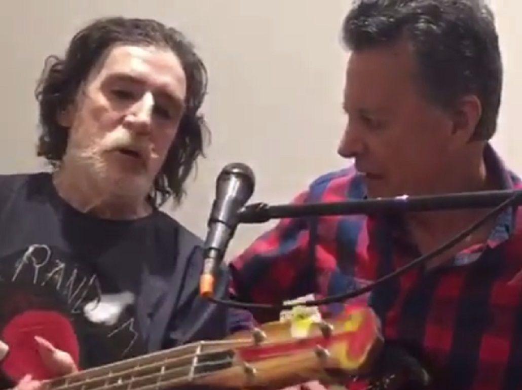 Charly Garcia y Palito Ortega