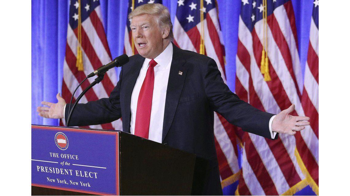 El presidente electo de Estados Unidos