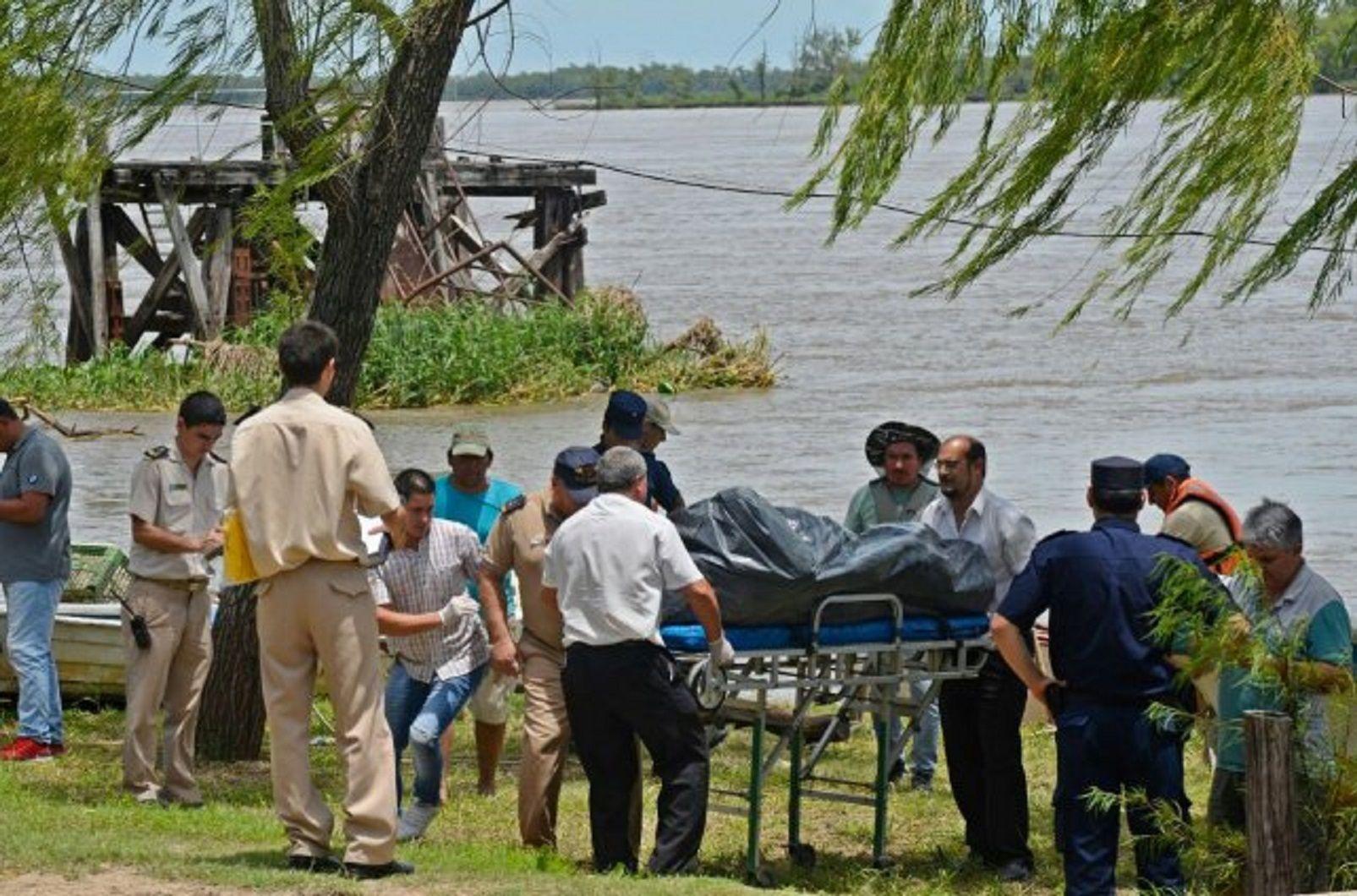 Identifican a los cuerpos hallados en el río Paraná